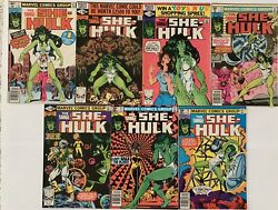 She Hulk Origin #1 (1980) & Other Issues Collector's Set