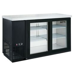 Dukers Appliance Co Dbb60-h2 61 Refrigerated Back Bar Cabinet
