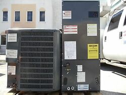Central Air 3-Ton Goodman AC Condenser and Air Handler AC Straight Cool Unit