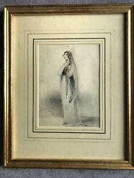 William Foster 1772-1812 Mrs Susan Knight Water Colour Heightened White