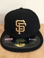 San Francisco Giants New Gold 2010 World Series Ring Ceremony Cap Hat 7 5/8
