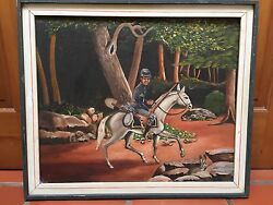 BLACK AMERICANA VTG 1970 BY  A D RICHARDSON  AMERICAN CAVALRY OFFICER 23