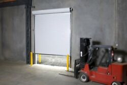 Durosteel Janus 8and039 X 10and039 2000i Series Commercial Insulated Roll-up Door Direct