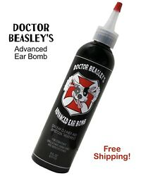 Doctor Beasley's Advanced Dog Ear Bomb, Medicated Infection Drops, 8 Oz