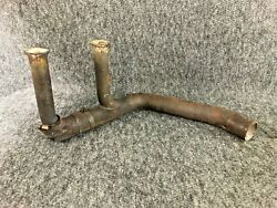 Cessna 172rg Exhaust Riser 2454000-16 And Crossover Tube 2454000-17