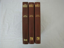 The Illustrated Bible Dictionary Lot Of 3