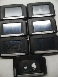 Lot Of 7 Kronos Intouch 9000 Time Clocks For Parts Or Repair