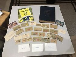 Huge Worldwide Stamp Collection 2 Books And Many Many More Loose