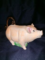 Andy Titcomb 1998 Pig Teapot Made In England
