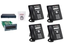 Avaya Ip Office 500 V2 Ipo500 9.0 4 Lines 4 9508 Phone System Essential Package