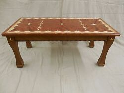 Marquetry Coffee Table, Custom, One-of-a-kind,art Furniture.