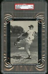 1954-56 Spic And Span Braves 11 Dave Jolly Braves Psa 9 20409244