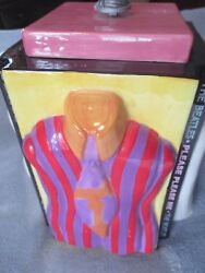 The Beatles Collectible Cookie Jar Vandor 2002 Limited Edition Trendsetters Jar.