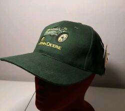 Nwt Vintage John Deere Hat With Embroidery 530 Tractor