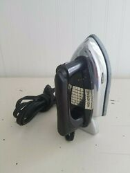 Vintage Wolverine Child's Chrome Plated Electric Toy Iron Sunny Susan