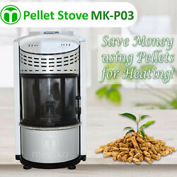 PELLET STOVE - MK-P03 - Save money using pellets for heating! - USA Stock!