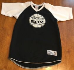 Boy's Youth Chicago White Sox Shirt Jersey Genuine Merchandise MLB Size M 8-10 $8.95
