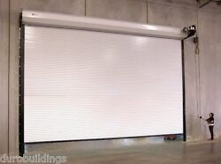 Durosteel Janus 16and039x16and039 Commercial 2500i Insulated Heavy Duty Rollup Door Direct