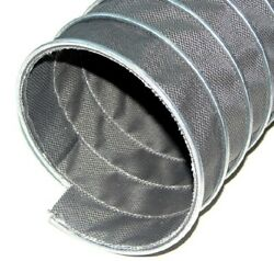 8and039and039 X 25and039 700anddeg F Garage Fume Exhaust Hose For Truck Tractor Trailers And Buss