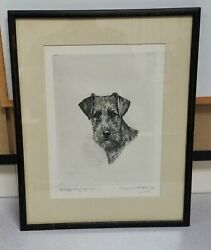 Signed Artist Proof Marguerite Kirmse Etching