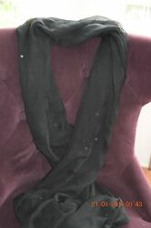 Black mirrored scarf from Afghanistan