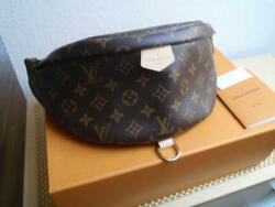Louis Vuitton Bumbag Messenger Shoulder Bag Fanny Pack Monogram Rare Design