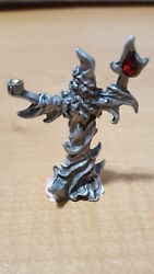 Vintage Gallo Wizard W/flame And Crystal Yahre And03991
