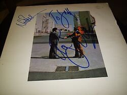 Pink Floyd Signed Lp Wish You Were Here Roger Waters+nick Mason L@@k Proof
