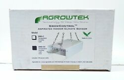 AGROWTEK Aspirated Indoor Climate Sensor (Temp/RH/Light) W/ CO2 Upgrade SNS-CC