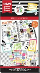 The Happy Planner Sports Value Pack Stickers 30shts/1429pcs