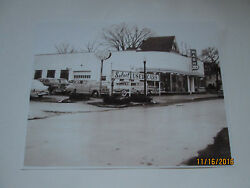 Lima, Ohio Nash Dealer 1951 Select Used Cars. Neon Clock, Signs Inside Reprint