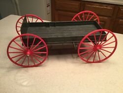 Marx Vintage Stage Coach Chuck Wagon Johnny West Best Of The West Used
