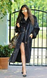 Real Mink Fur Coat New And Tags Sz.14 - 16 Class Of Sable Lynx Fox Chinchilla