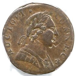 1788 4.1-k R-5 Pcgs Xf 45 Mailed Bust Right Connecticut Colonial Copper Coin