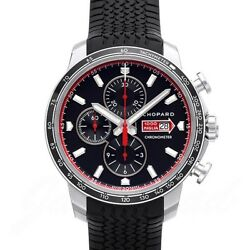 Chopard Mille Miglia GTS Black Racing Tires Watch Chronograph 168571-3001