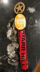 Starr Hill Brewery Virginia Sheriff Badge Looking Glass Ipa Beer Tap Handle