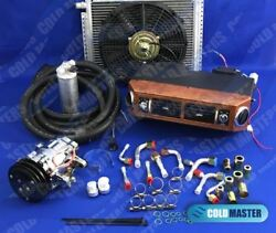 Universal Underdash Air Conditioner 432w 7b10 Compr 14x20 Cond And Elec Harness