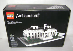 New 21006 Lego Architecture The White House Building Toy Sealed Box Retired A