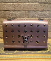 LOUIS VUITTON EMPREINTE Chain Shoulder Bag Metal Dot Pink Rare Design $4,959.00