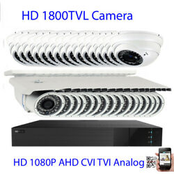 32ch 6mp All-in-1 Dvr 1800tvl 3-12mm Lens 36/72ir Security Camera System 3ds/n