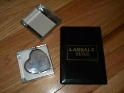 Paperweight with engraved message Nordstrom and Black address book $12.00
