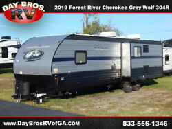 19 Forest River Cherokee Grey Wolf West 304R RV Camper Towable Travel Trailer