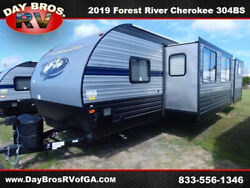 19 Forest River Cherokee West 304BS RV Camper Towable Travel Trailer Bunkhouse