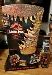 Jurassic Park And Lost World Collectors Edition Promo Floor Standee And Table Top
