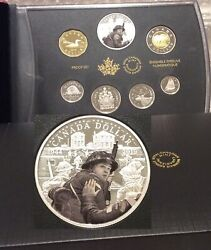 1944-2019 D-day 75th Anniversary Special Edition Silver Dollar Proof Set 7-coins