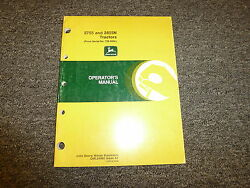 John Deere 2755 Utility And 2855n Orchard Tractor Owner Operator Manual Oml64485