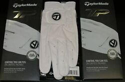 Taylormade Tp Golf Gloves Aaa Cabretta Leather 3 Pack Pick Size