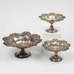 Reed And Barton ʺfrancis Iʺ Sterling Silver Footed Dishes Bowl Compote Centerpiece