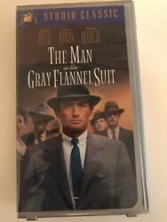 The Man In The Gray Flannel Suit Vhs 1737, 20th Century Fox, 1956 Rare 6140