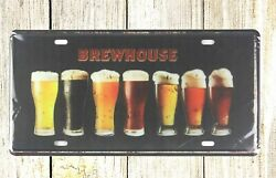 Cabin Shed Metal Plaques Brewhouse Beer Pub Club Tin Sign Car Plate